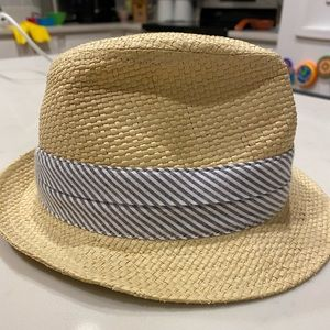 Janie and Jack infant's fedora hat